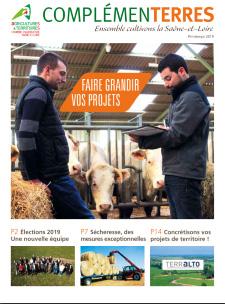 Complementerres printemps 2019 chambres d 39 agriculture - Chambre d agriculture franche comte ...